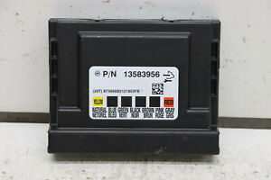 Vauxhall Astra J BCM - Body Control Module 13583956 With Security Code