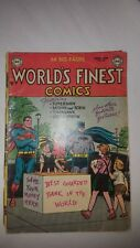 """New ListingWorld'S Finest Comic #69 Comic Book 1954 """"Scarce"""" See Picture'S For Condition"""