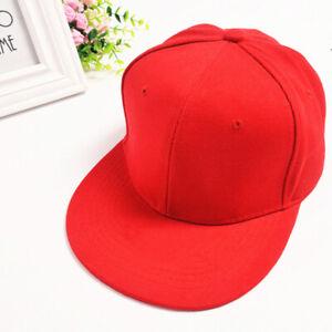 Mens Womens Funky Plain  Baseball Cap Adjustable Peak Sport Summer Printing Caps