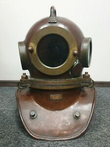 Russian  Soviet 3-bolt diving helmet (year 1981). USSR MARITIME