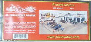JL Innovative Design HO #171 Pickard Motors (Building kit) 1:87th Scale