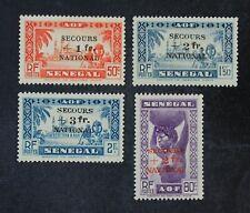 CKStamps: Senegal Stamps Collection Scott#B9-B12 Mint H OG