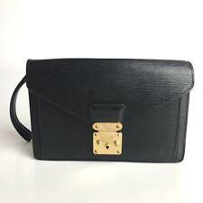 Louis Vuitton Epi Serie Doragon'nu second bag handbag leather noir black (601-6