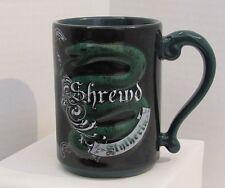 The Wizarding World Of Harry Potter Slytherin Shrewd Ceramic Coffee Mug Cup