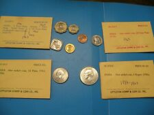 INDIA 1 Rupee SILVER & 21,2,5,10,25,50 Naye Paise 1889 - 1964 mixed   C4