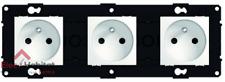 Triplice Presa di Corrente 2P+T 16A Arnould Espace Evolution Bianco 64033