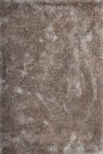 Tappeti a pelo lunghi per la casa argento poliestere