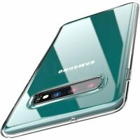 Samsung Galaxy S10 S10e S10+ Plus Clear Transparent Case Shock Absorption Cover