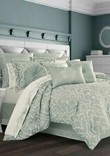 J Queen New York Lombardi Comforter Set - Blue - Size: King