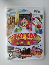 Arcade Zone (Nintendo Wii 2009) Rated E 4 Players Retro Activision Video Games