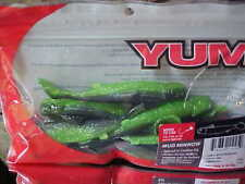 """Yum 4"""" MUD MINNOW, #YMMN4234 in LUCKY MINNOW, 8 pk for Fresh/Saltwater Game Fish"""