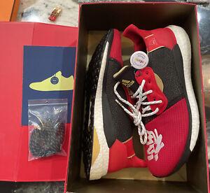 Adidas Pharrell x Solar Hu Glide M CNY Chinese New Year EE8701 Men Size 10.5 NIB