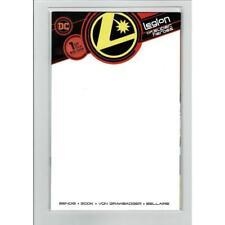 Legion Of Super-Heroes #1 Blank Variant DC Comics Book