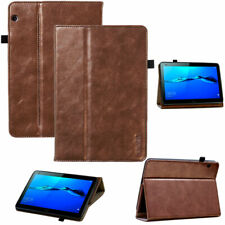 Premium Leder Cover für Huawei MediaPad T5  (10)  Schutzhülle Tasche Tablet Case