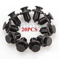 20Pcs Plastic Rivet Retainer Bumper Trim Clips 10mm For Civic Accord Honda CR-V