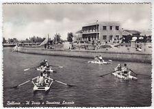 0069 RIMINI BELLARIA IGEA MARINA - PEDALÒ Cartolina FOTOGRAFICA viaggiata 1956