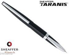 Sheaffer Taranis Stormy Night / Chrome Plate Trim Fountain Pen Medium Nib New