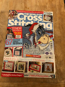 the world of cross stitching magazine Issue 157 Inc Free Gift