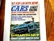 Hi-Performance Cars – August 1968