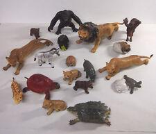 Lot Of Wild Animal Figures Safari Ltd., Similar To Schleich LIONS APE TURTLES