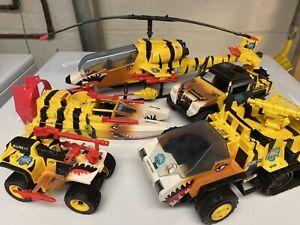 GI Joe ARAH Tiger Force Vehicle Lot Tiger Cat, Fly, Sting, Shark, Paw