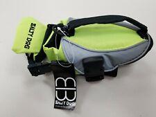 Petego Salty Dog Pet Life Vest XXSmall Green/Yellow Bright Reflective New