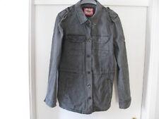 Only Damen Arla Army Jacket Gr. M grau Longshirt Jeansjacke Jacke 4 Außentaschen