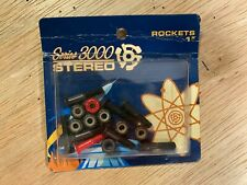 Vintage STEREO skateboards Series 3000 rockets hardware and bolts, sealed in box