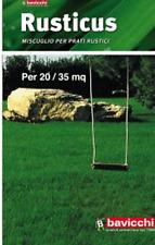 Rusticus sementi semi per prati prato rustico giardino erba rustica 1 kG