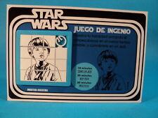 STAR WARS * ANAKIN SKYWALKER * SLIDE PUZZLE SKILL GAME CARDED * ARGENTINA