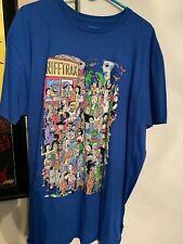 Rifftrax Kickstarter Blue XXL 2XL T-Shirt Mystery Science Theater 3000 MST3K