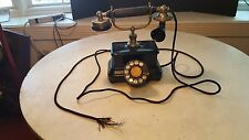 Antique Mutual NYC European Style Telephone For Display