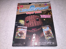 Little Big Planet Super Book (Signature Series Guide: PlayStation PS3, PSP) VG!