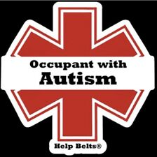 Autism Window Cling by Help Belts®