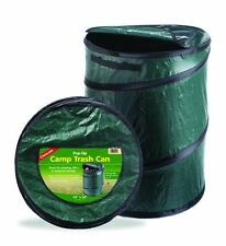 Camping Pop Up Trash Can, Garbage Bag Bin Outdoor Travel Portable Collapsible