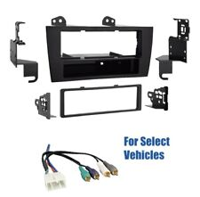 2 Din Car Stereo Dash Wire Kit Combo for 2001 2002 2003 2004 Lexus GS300 GS400