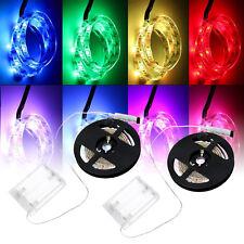 1m 5v SMD 5050 RGB LED Strip Light Flexible Lighting Background TV Waterproof AU