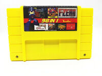 Super 98 in 1 Game 16 Bit for Nintendo SNES Multi Cart Game Cartridge NTSC US/V