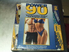 BEACH BODY POWER 90 IN HOME BOOT CAMP~NEW~6 VHS & TRANSFORMATION TRACKER & GUIDE