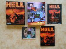 Hell-A cyberpunk ADVENTURE PC DOS tedesco TOP CONDIZIONE USK 16 #