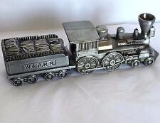 Replica W & ARR Railroad General Steam Train Engine Car Coin Piggy Bank Metal