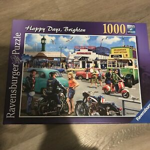 RAVENSBURGER  'Happy days, Brighton' 1000 Piece Jigsaw Puzzle