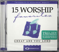 15 Worship Favorites Great Are You Lord NEW CD Various Artist Contemporary Music