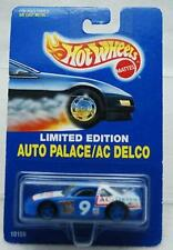 HOT WHEELS 1992 AUTO PALACE/AC DELCO RACE CAR LIMITED EDITION #9 NIB 1:64