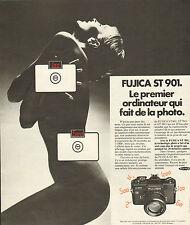 Advertising 1975 fujica st 901 camera