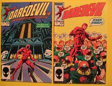 Daredevil Marvel Comics 2 1984 Issues 208 & 209 Nm Harlan Ellison D Mazzucchelli