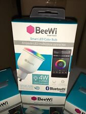 Beewi Bluetooth Smart LED Light Bulb 4W equivalent 30 watt GU10 BBL014A1US NEW➨☆