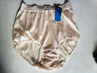Vintage Maidenform Panties Wise Buys Size 6 Beige Bikini Lace Underwear Sexy NWT