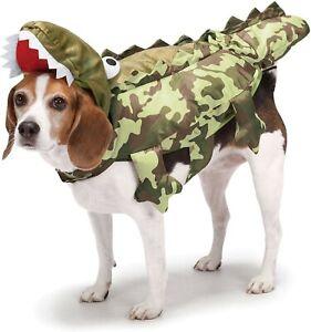 Zack & Zoey Camo Alligator Costume for Dogs, XSmall