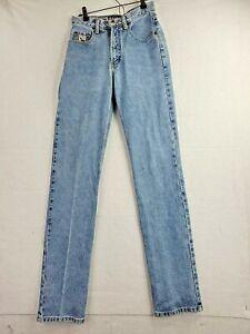 Cruel Girl Womens 3 Long  25 x 34 Distressed Blue Denim Slim Fit Jeans